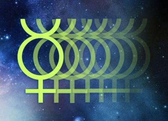 Mercurius symbool