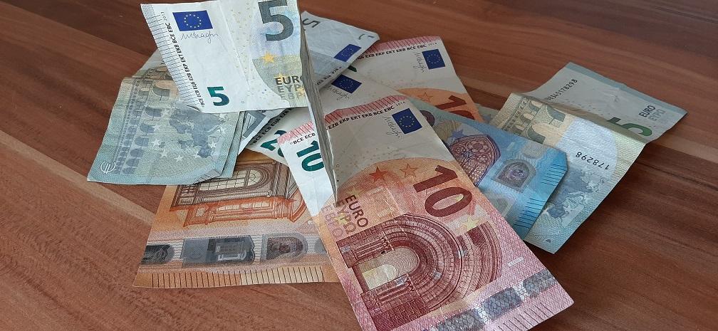 Het grotere geld (eigen foto)