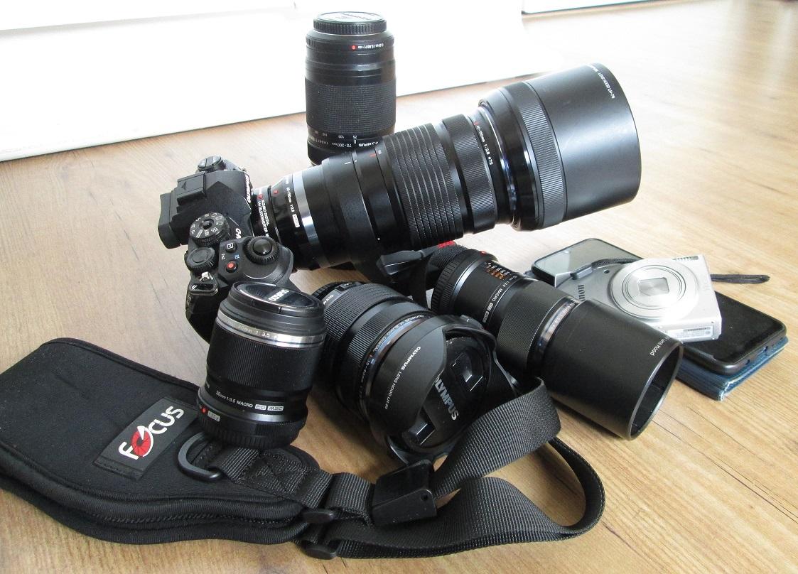 Mijn camera uitrusting