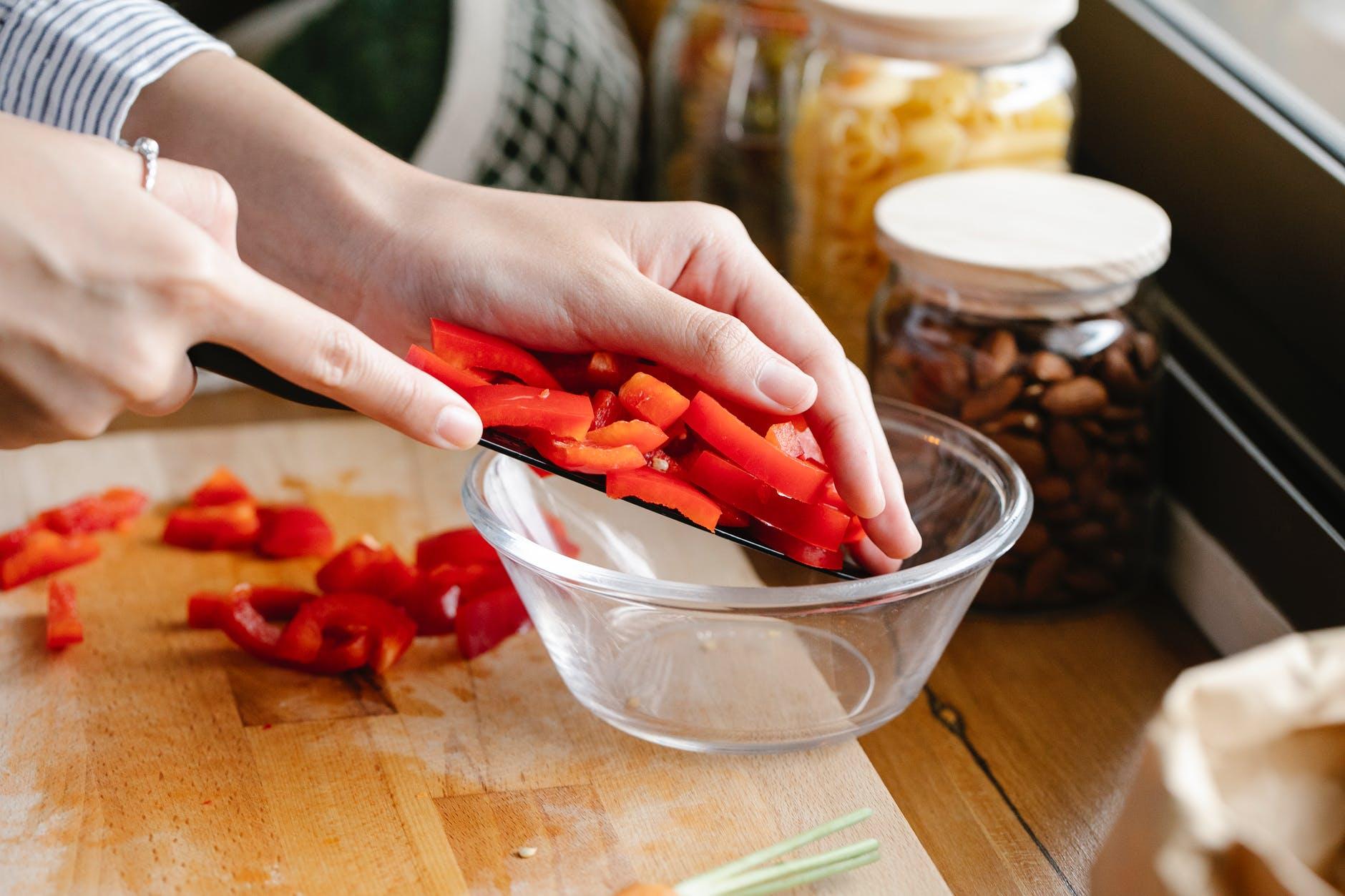 Vooral verse groenten zijn rijk aan vitamine B