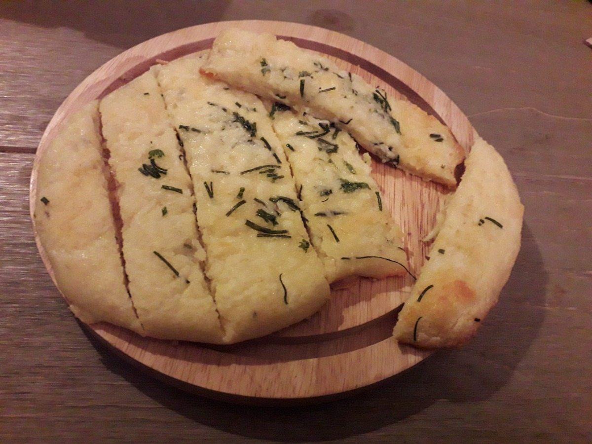 koolhydraatarm knoflookbrood
