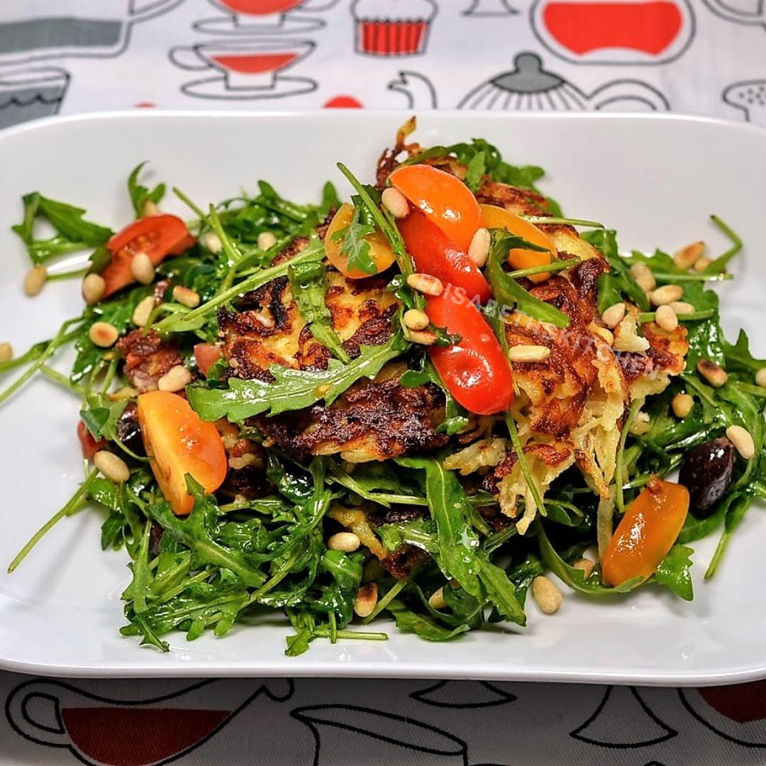Rösti met salade recept