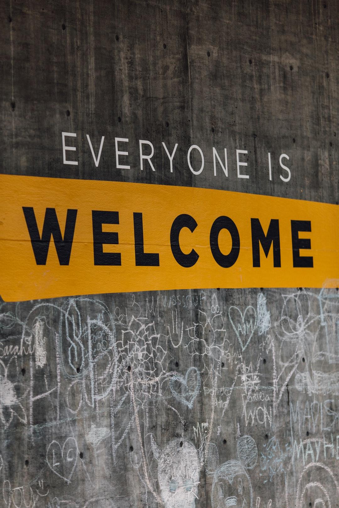 Iedereen is welkom!