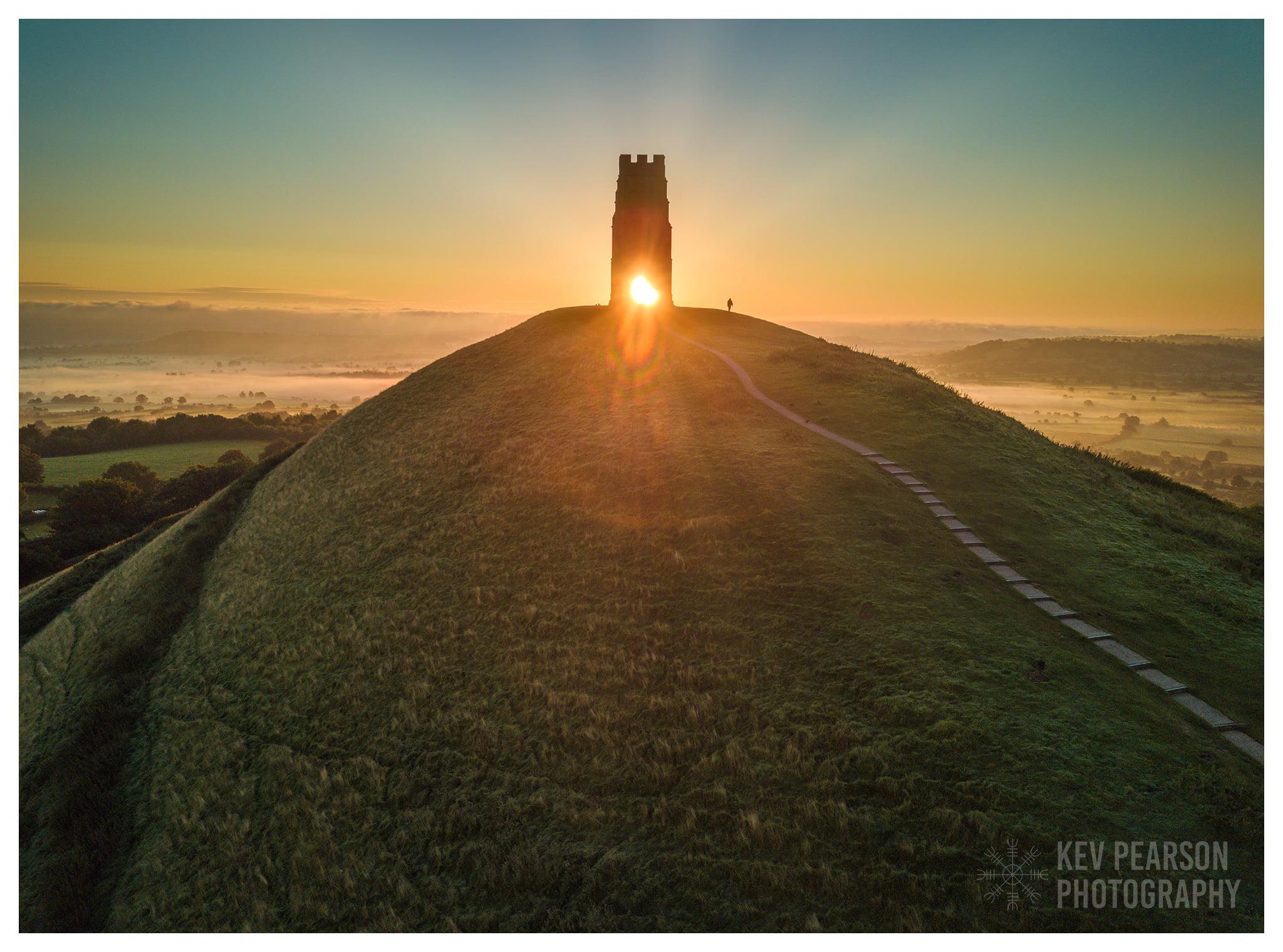 Kev Pearson Photography De Tor in Glastonbury. Vandaag!
