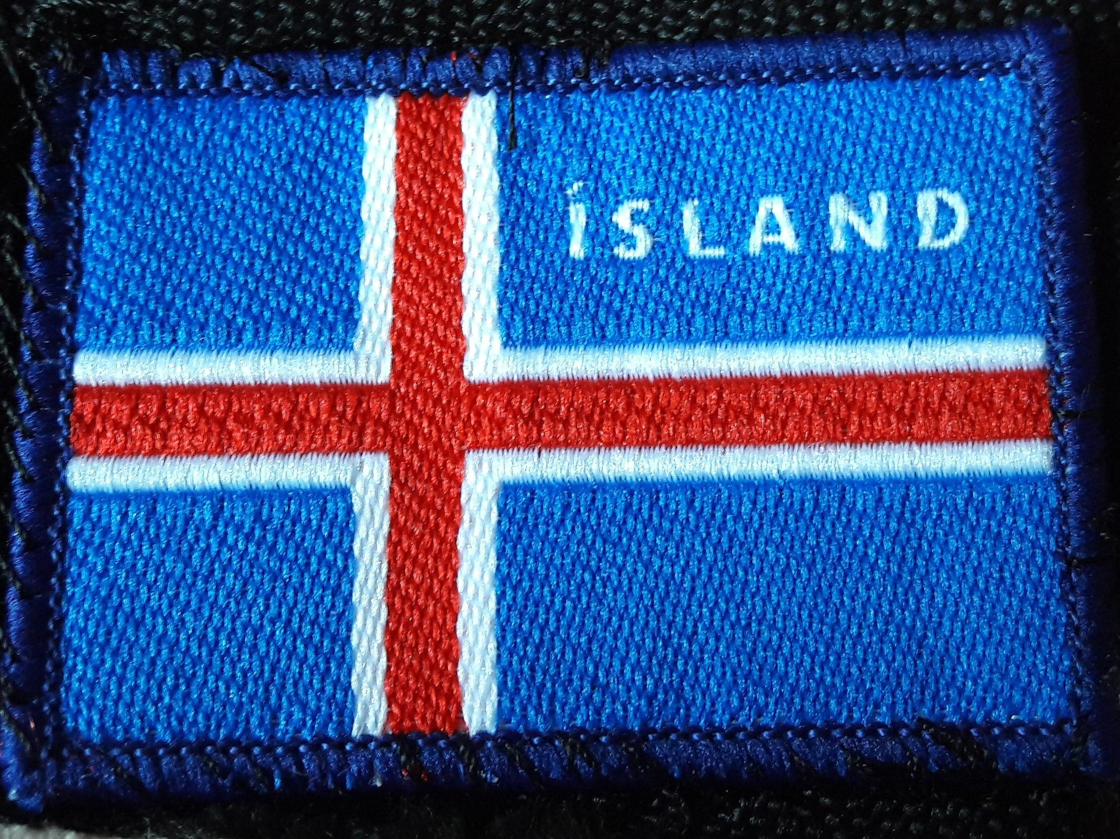 De vlag van IJsland (eigen foto)