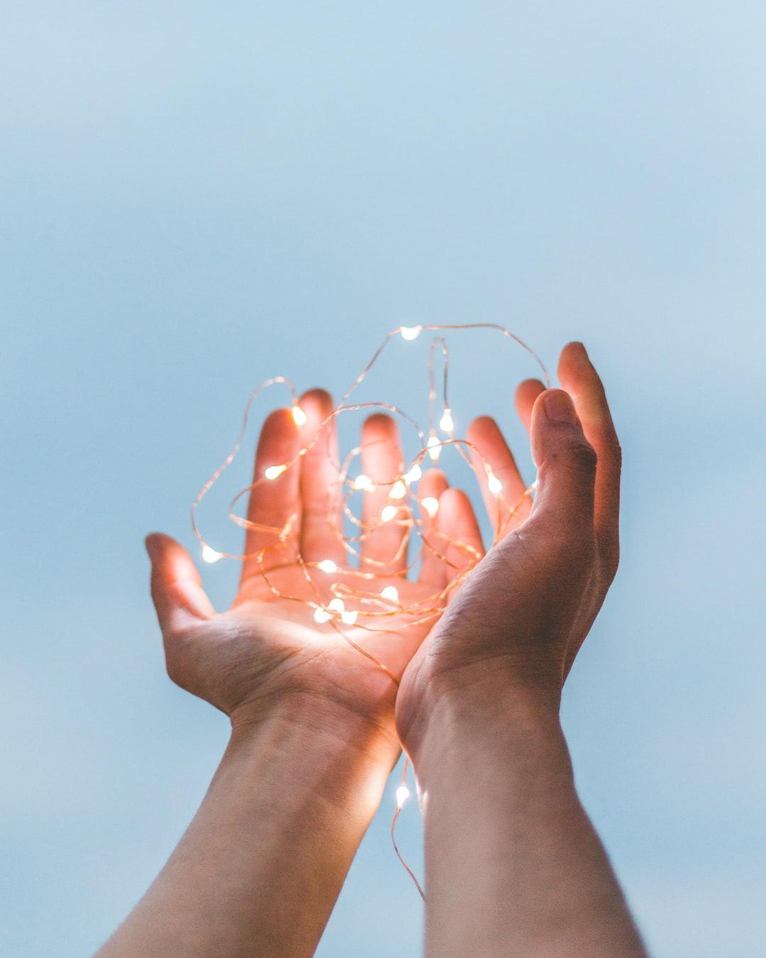 Hands together,  Nonviolent Communication